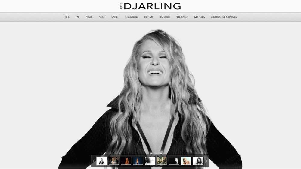 billede af hjemmeside eksempel djarling